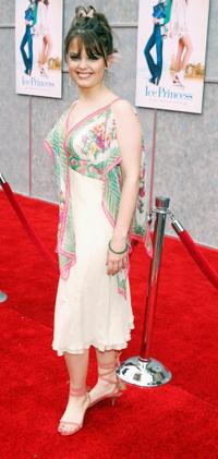 Kimberly J. Brown at the premiere of