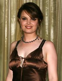 Kimberly J. Brown at the Kids of Hope Tsunami Relief Gala.
