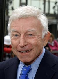 Henry Gibson at the ceremony honoring the comedy duo of Dan Rowan (posthumous) and Dick Martin with a star on the Hollywood Walk of Fame.