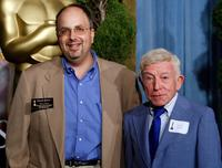 Henry Gibson and Charles Gibson at the 80th annual Academy Awards nominees luncheon held at the Beverly Hilton Hotel.