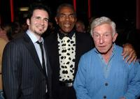 Henry Gibson, Hal Sparks and Andre De Shields at the post party following a live reading of the screenplay