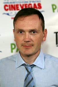 Pat Healy at the screening of