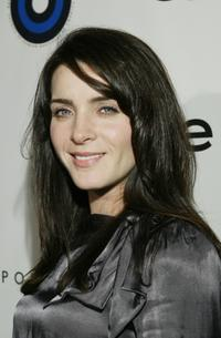 Michele Hicks at the launch party for Fashion Targets Breast Cancer Worldwide.