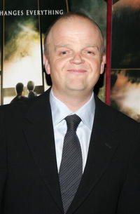 Actor Toby Jones at the N.Y. premiere of