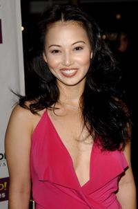 Linda Kim at the world premiere of
