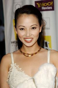 Linda Kim at the Hollywood Film Festival's closing night screening of