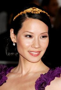 Lucy Liu at the Metropolitan Museum of Art Costume Institute Benefit Gala