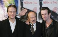 August Diehl, Volker Schloendorff and Ulrich Matthes at the world premiere of