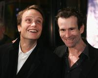August Diehl and Ulrich Matthes at the premiere of