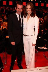 Ulrich Matthes and Marie Baeumer at the German Film Award 2009 Gala.