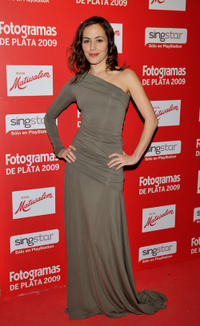 Irene Montala at the Fotogramas Magazine Awards in Spain.