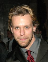 Adam Pascal at the after party of the closing performance of AIDA.
