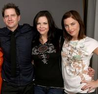 Jamie Kennedy, Christa Campbell and Donnamarie Recco at the 2009 Sundance Film Festival.