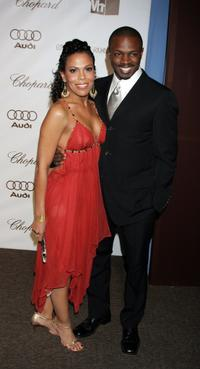 Sean Patrick Thomas and Aonika Laurent at the 14th Annual Elton John Academy Awards.