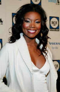 Gabrielle Union at Clive Davis' Pre-Grammy party in Beverly Hills, California.