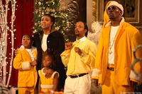 """Gabrielle Union, Katt Williams and Charlie Murphy in """"The Perfect Holiday."""""""