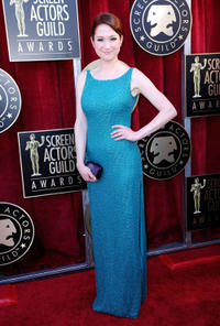 Karine Vanasse at the 18th Annual Screen Actors Guild Awards in California.