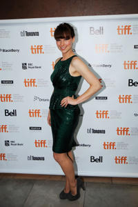 Karine Vanasse at the premiere of