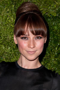 Karine Vanasse at the 8th Annual CFDA/Vogue Fashion Fund Awards in New York.