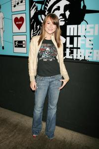 Alexa Vega at the MTV's Total Request Live.