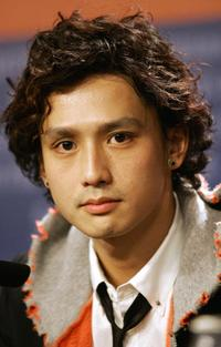 Masanobu Ando at the press conference of