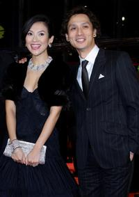 Zhang Ziyi and Masanobu Ando at the premiere of