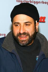 Dave Attell at the Stuff Magazine's Toys for Bigger Boys party.
