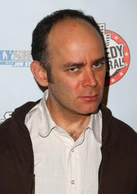 Todd Barry at the Comedy Central's Indecision 2008 Election Night viewing party.