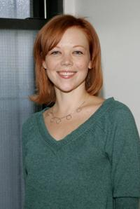 Emily Bergl at the Mid-town rehearsal studio during a photocall for the cast of