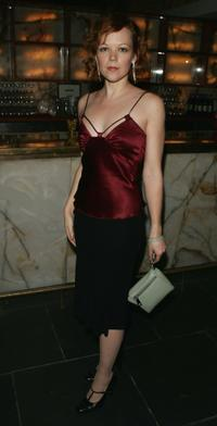 Emily Bergl at the after party for the opening night of the Roundabout Theatre Company's