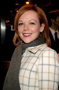 Emily Bergl at the opening night of Roundabout Theatre Company's revival of