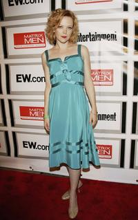 Emily Bergl at the Entertainment Weekly and Matrix Men upfront party.
