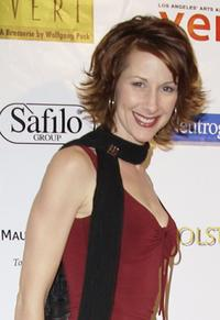 Wendy Braun at the Usual Suspects Theatre Company's holiday party.