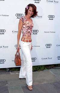 Wendy Braun at the Audi and Conde Nast party.