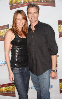 Wendy Braun and Guest at the premiere of