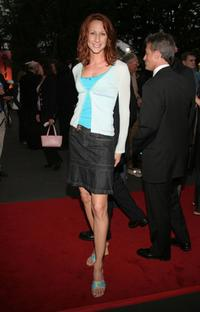 Wendy Braun at the opening night of
