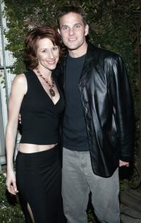Wendy Braun and Karl Lang at the opening night of the play