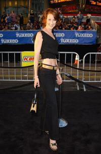 Wendy Braun at the premiere of