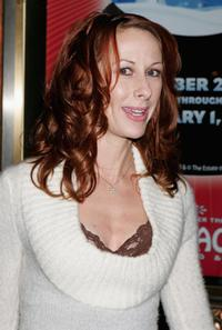 Wendy Braun at the opening night performances of