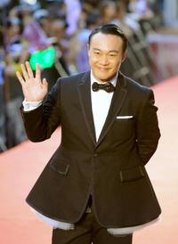 Eason Chan at the 20th Golden Melody Awards.