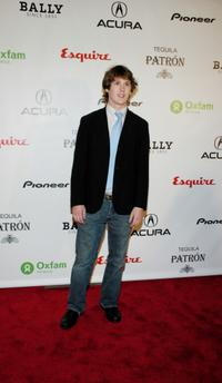 Spencer Treat Clark at the Oxfam Event Honoring Emile Hirsch.