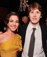 Martha MacIsaac and Spencer Treat Clark at the after party of the premiere of