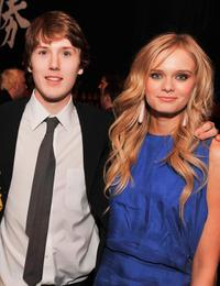 Spencer Treat Clark and Sara Paxton at the after party of the premiere of