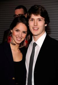 Emily Cole and Spencer Treat Clark at the premiere of
