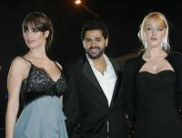 Vega Paz, Jamel Debbouze and Ludivine Sagnier at the sixth International Film Festival (FIFM).