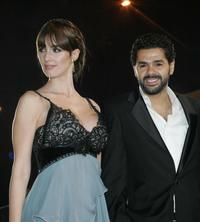 Vega Paz and Jamel Debbouze at the sixth International Film Festival (FIFM).