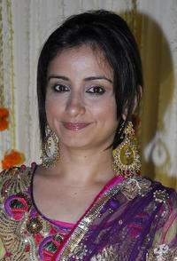 Divya Dutta at the reception party of Vivek Oberoi and Priyanka Alva in Mumbai.