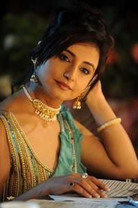 Divya Dutta at the Vivel Miss PTC Punjabi 2009 contest.