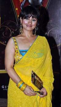 Divya Dutta at the Global Indian Film and Television Honors Awards 2011.