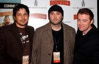 Tony Leech, Todd Edwards and Cory Edwards at the premiere of